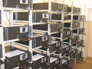 Cluster of computers
